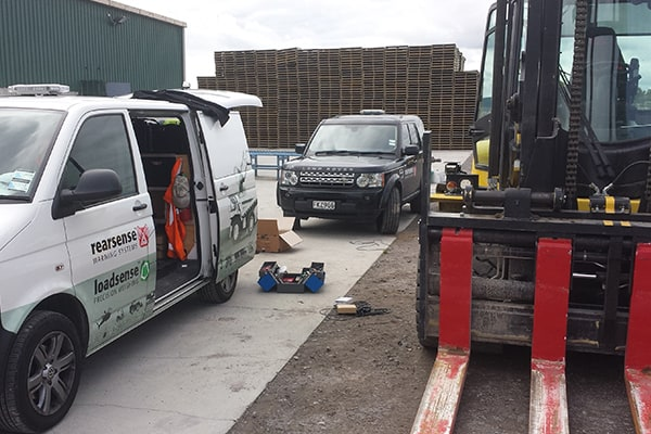 Forklift Scales Service and Support