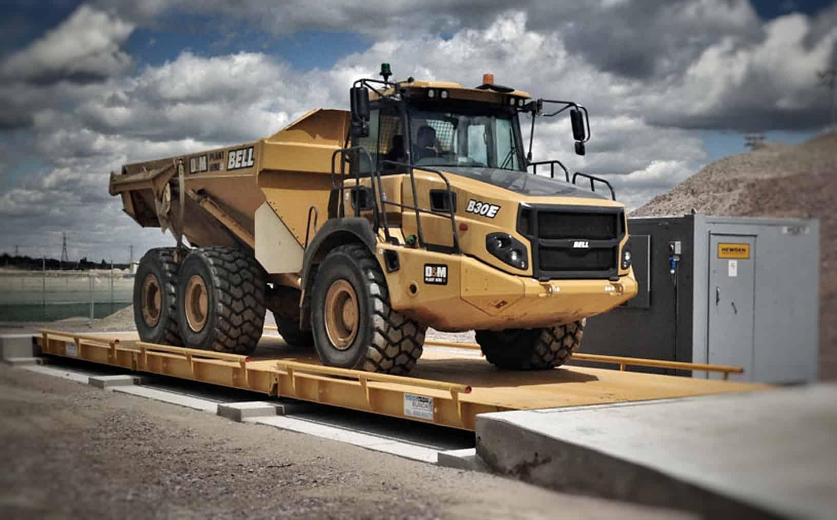 Loadsense truck weighbridge scales nz australia