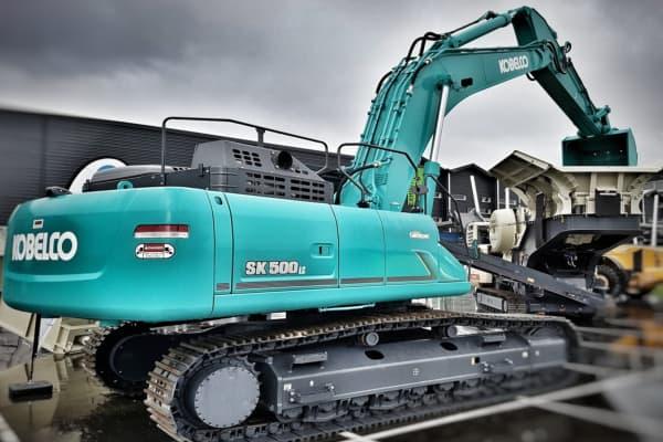 Kobelco Excavator Scales