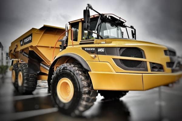 Volvo Haul Truck Scales