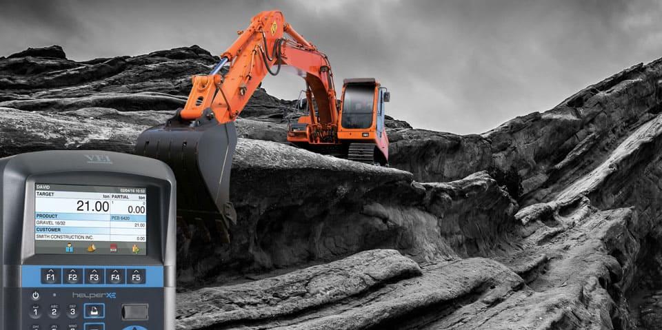 Loadsense VEI Helper XE Excavator Scales