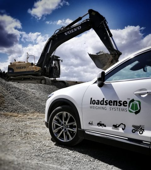 volvo excavator scale loadsense xe nz aus