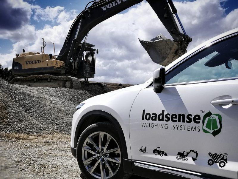 Loadsense Volvo Excavator Scale